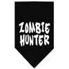 Mirage Pet Products Zombie Hunter Screen Print Bandana Black Large