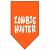Mirage Pet Products Zombie Hunter Screen Print Bandana Orange Large