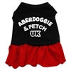 Mirage Pet Products Aberdoggie UK Dresses Black with Red XS (8)