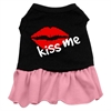 Mirage Pet Products Kiss Me Dresses Black with Pink Med (12)