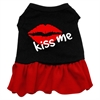 Mirage Pet Products Kiss Me Dresses Black with Red XXL (18)