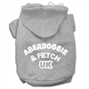 Mirage Pet Products Aberdoggie UK Screenprint Pet Hoodies Grey Size XL (16)