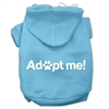 Mirage Pet Products Adopt Me Screen Print Pet Hoodies Baby Blue Size Sm (10)
