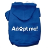 Mirage Pet Products Adopt Me Screen Print Pet Hoodies Blue Size Sm (10)