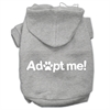 Mirage Pet Products Adopt Me Screen Print Pet Hoodies Grey Size XXL (18)