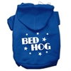 Mirage Pet Products Bed Hog Screen Printed Pet Hoodies Blue XS (8)