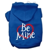 Mirage Pet Products Be Mine Screen Print Pet Hoodies Blue Size XXXL (20)