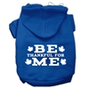 Mirage Pet Products Be Thankful for Me Screen Print Pet Hoodies Blue Size XL (16)