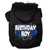 Mirage Pet Products Birthday Boy Screen Print Pet Hoodies Black Size XL (16)
