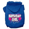 Mirage Pet Products Birthday Girl Screen Print Pet Hoodies Blue Size Lg (14)