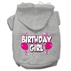 Mirage Pet Products Birthday Girl Screen Print Pet Hoodies Grey Size XXL (18)