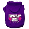 Mirage Pet Products Birthday Girl Screen Print Pet Hoodies Purple Size XS (8)