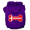 Mirage Pet Products Bone Shaped Denmark Flag Screen Print Pet Hoodies Purple Size L (14)