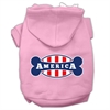Mirage Pet Products Bonely in America Screen Print Pet Hoodies Light Pink Size XXXL (20)