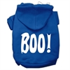 Mirage Pet Products Boo! Screen Print Pet Hoodies Blue Size XL (16)