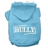 Mirage Pet Products Bully Screen Printed Pet Hoodies Baby Blue Size XS (8)