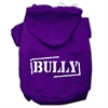 Mirage Pet Products Bully Screen Printed Pet Hoodies Purple Size XS (8)