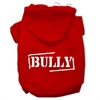 Mirage Pet Products Bully Screen Printed Pet Hoodies Red Size XS (8)