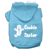 Mirage Pet Products Cookie Taster Screen Print Pet Hoodies Baby Blue Size XS (8)