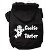 Mirage Pet Products Cookie Taster Screen Print Pet Hoodies Black Size XS (8)