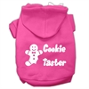 Mirage Pet Products Cookie Taster Screen Print Pet Hoodies Bright Pink Size XS (8)