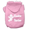 Mirage Pet Products Cookie Taster Screen Print Pet Hoodies Light Pink Size Sm (10)