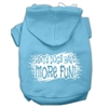 Mirage Pet Products Dirty Dogs Screen Print Pet Hoodies Baby Blue Size XS (8)