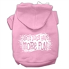 Mirage Pet Products Dirty Dogs Screen Print Pet Hoodies Light Pink Size Sm (10)