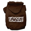Mirage Pet Products Ehrmagerd Screen Print Pet Hoodies Brown Size Med (12)