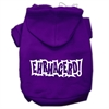Mirage Pet Products Ehrmagerd Screen Print Pet Hoodies Purple Size Sm (10)