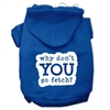Mirage Pet Products You Go Fetch Screen Print Pet Hoodies Blue Size XS (8)