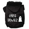 Mirage Pet Products Ghost Hunter Screen Print Pet Hoodies Black with Cream Lettering Lg (14)