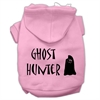 Mirage Pet Products Ghost Hunter Screen Print Pet Hoodies Light Pink with Black Lettering Lg (14)