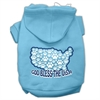 Mirage Pet Products God Bless USA Screen Print Pet Hoodies Baby Blue XS (8)