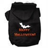 Mirage Pet Products Happy Halloween Screen Print Pet Hoodies Black XL (16)