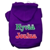 Mirage Pet Products Hyvaa Joulua Screen Print Pet Hoodies Purple XS (8)