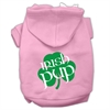 Mirage Pet Products Irish Pup Screen Print Pet Hoodies Light Pink Size XL (16)