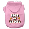 Mirage Pet Products Lick Or Treat Screen Print Pet Hoodies Light Pink Size L (14)