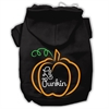 Mirage Pet Products Lil Punkin Screenprint Hoodie Black XXL (18)