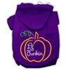 Mirage Pet Products Lil Punkin Screenprint Hoodie Purple XS (8)