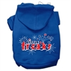 Mirage Pet Products Little Firecracker Screen Print Pet Hoodies Blue Size XL (16)