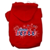 Mirage Pet Products Little Firecracker Screen Print Pet Hoodies Red Size M (12)