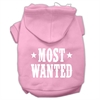 Mirage Pet Products Most Wanted Screen Print Pet Hoodies Light Pink Size XL (16)
