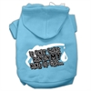 Mirage Pet Products My Kind of Gas Screen Print Pet Hoodies Baby Blue S (10)