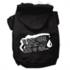 Mirage Pet Products My Kind of Gas Screen Print Pet Hoodies Black XL (16)