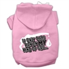 Mirage Pet Products My Kind of Gas Screen Print Pet Hoodies Light Pink Size XL (16)