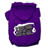 Mirage Pet Products My Kind of Gas Screen Print Pet Hoodies Purple Size S (10)