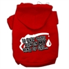 Mirage Pet Products My Kind of Gas Screen Print Pet Hoodies Red Size S (10)