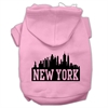 Mirage Pet Products New York Skyline Screen Print Pet Hoodies Light Pink Size Med (12)