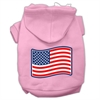 Mirage Pet Products Paws and Stripes Screen Print Pet Hoodies Light Pink Size XXXL(20)
